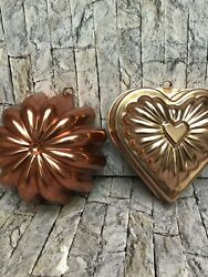 Copper Kitchen Molds Lot of 2 $10.00