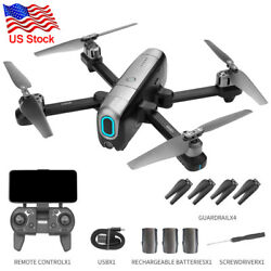 Foldable Aerial RC Drone GPS Dual HD Camera 4K FPV Quadcopter APP Selfie Toy $129.99