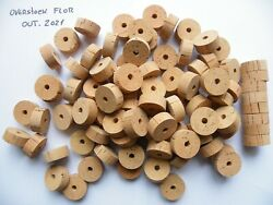 100 CORK RINGS OVERSTOCK FLOR 1 1 4quot;X1 2quot; BORE 1 4quot; FREE SHIP WORLDWIDE $95.90