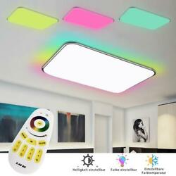 36W RGB LED Ceiling Light Dimmable Remote Panel Wall Kitchen Bathroom Lamp $52.12