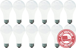 GE Lighting 11585 Traditional GE 11585 12 A21 Incandescent Soft White Light Bulb
