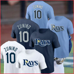Tampa Bay Rays #10 Mike Zunino Name amp; Number Unisex T Shirt For Fans S 5XL $9.95