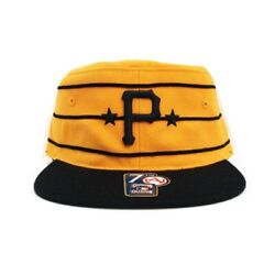 Pittsburgh Pirates Pillbox Yellow Fitted Hat 7 3 8 $39.99