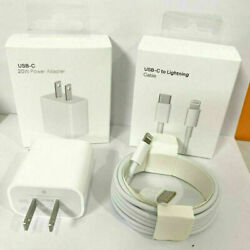 For iPhone 13 Pro Max 12 Pro 11 XR iPad Fast Charger 20W PD Power Adapter Type C $15.99