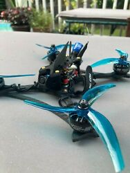 Custom FPV racing drone with 5quot; propellers for Frsky controllers $400.00
