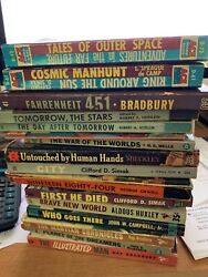 You Choose Lot of Vintage Science Fiction Paperbacks Many First Edition $139.99