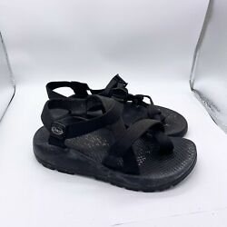 Chaco Sandals Women's 7 Black Z2 Classic Hiking Shoes Toe Loop Strappy $21.99