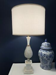 Vintage Murano Glass Pair Table Lamps $1250.00