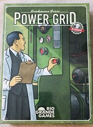 Power Grid Recharged 2004 ; Rio Grande Games; NEW SEALED; 7.8 10 BGG Rating $35.00