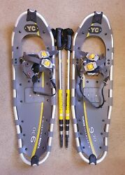 Yukon Charlie#x27;s Pro Series II 930 Snowshoes with Poles and Storage Bag $100.00