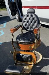 Reproduction Vintage Barber Chair $500.00