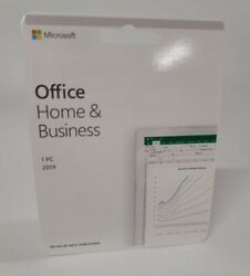 Microsoft Office Home and Business 2019 1PC 1 User Key Card $89.99