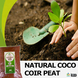 100% Organic Coco Coir Coco Peat Natural Compost for Hydroponic Growing Media $5.99