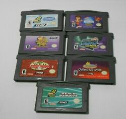 Lot of Nickelodeon Games Phantom Odd GameBoy Advance GBA Authentic Tested $34.99