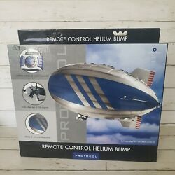 Protocol Helium Blimp RC Flying Airship Remote Control 40quot; NEW Open Box Unused $65.00