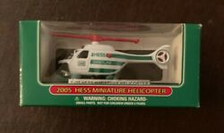 Hess Mini Toy Helicopter New In Box PERFECT CONDITION $10.00