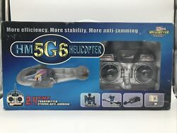 Walkera 2.4 GHZ Hm 5G6 Helicopter **Untested No Battery ** $145.00