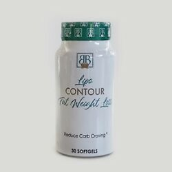 Lipo Contour Fat Weight Loss Softgels Free Shipping $23.99