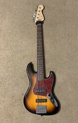 Squier 5 string bass guitar used $500.00