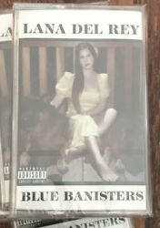 Lana Del Rey Blue Banisters Red Color Cassette Tape Brand New Interscope $29.99