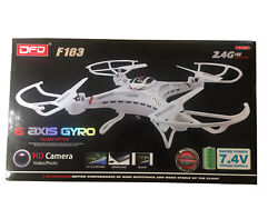 BRAND NEW DFD F183 2.4G 6 Axis RC QUADCOPTER HD CAMERA DRONE $29.99