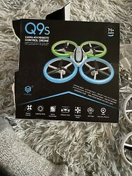 Q9s Drones for KidsRC Drone with Altitude Hold Headless Mode Lighting Mode $44.00