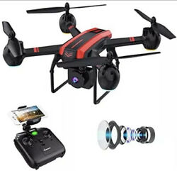 Sanrock Black Red X Series Drone HD Camera Altitude Hold Quadcopter $30.00