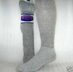 Mens Socks over the calf gray size 10 13 12 Pr $30.95