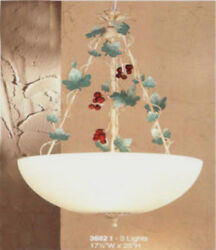 3682 I Chandelier Cream Ivory Made In Italy $194.25