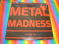 METAL MADNESS VOL 1 PRIVATE METAL RED VINYL NIGHTMARE 2