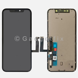 US For Iphone XR Display LCD Touch Screen Digitizer Frame Back Plate Replacement $51.95