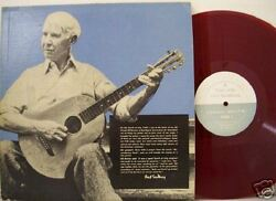 CARL SANDBURG Visit With Red Vinyl 1951 Private Pressed
