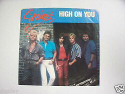 45 PICTURE SLEEVE ONLY NO RECORD SURVIVOR HIGH ON YOU