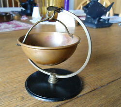 Art Deco Copper Kettle Ashtray