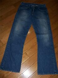 WOMENS LUCKY BRAND 40 LOW RISE EASY FIT FLARE JEANS 829 MEASURE 29 X 32 USA