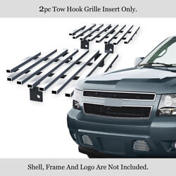 Fits 2007-2014 Chevy Tahoe/Suburban/Avalanche Bumper Billet Grille Grill Insert $23.99