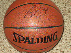 Shaquille Oneal SHAQ Signed Spalding Replica NBA Basketball $154.00