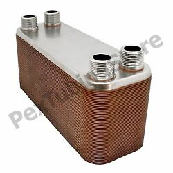 All Sizes 316L Stainless Steel Brazed Plate Heat Exchangers - Boilers Radiant $48.95