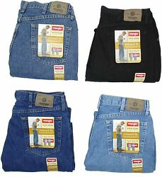 Wrangler Mens Jeans Relaxed Fit Five Star Many Sizes Many Colors New With Tags $24.99