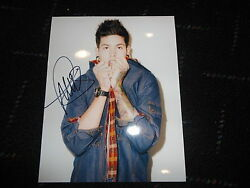 T MILLS SIGNED PHOTO AUTO VANS SHE GOT A COA GA MAC MILLER MGK TRAVIS!!