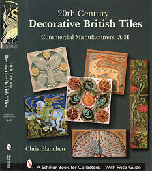 20th Century Decorative British Tiles Commercial Manufacturers A H