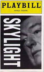 SKYLIGHT BROADWAY OPENING NIGHT PLAYBILL - MICHAEL GAMBON