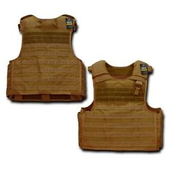 Coyote Tactical Plate Carrier Modular Operator MOLLE Military Police SWAT Vest $119.95