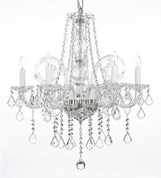 Crystal Chandelier Chandeliers Lighting H25quot; x W24quot; $141.17