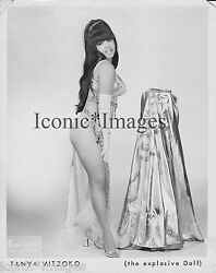 ORIG.1960 PHOTO-TANYA MITZOKO-STRIPPER EXOTIC-BURLESQUE THE EXPLOSIVE DOLL-BUSTY $59.99