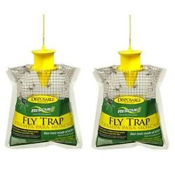 Outdoor Disposable Fly Trap Catcher Station Hanging Style 2 pack $14.95