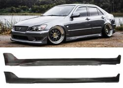 FOR 01 05 LEXUS IS300 PAIR TYPE R PU SIDE SKIRTS SIDESKIRTS RIGH AND LEFT $185.00