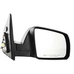 Power Mirror For 2007-2013 Toyota Tundra Passenger Side Heated Textured Black $49.60