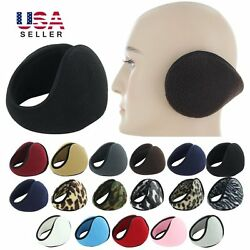 Ear Muffs Winter Ear warmers Fleece Earwarmer Mens Womens Behind the Head Band