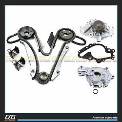 Timing Chain Kit Oil & Water Pump for Concorde Sebring Intrepid Stratus 2.7L V6